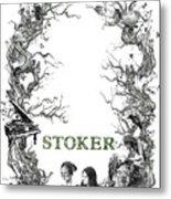 Stoker Metal Print