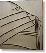 Stone - Tile Metal Print