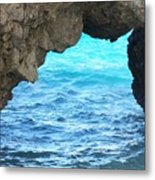 Stone And Sea Metal Print