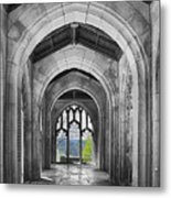 Stone Archways Metal Print