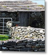 Stone Barn Doolin Ireland Metal Print