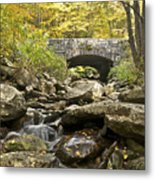 Stone Bridge 6063 Metal Print