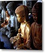 Stone Buddhas Metal Print
