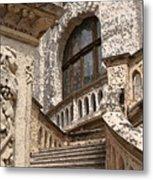 Stone Buildings In Majestic Monaco Metal Print