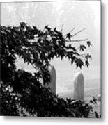 Stone Cold Fog Metal Print