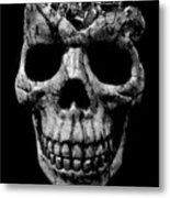 Stone Cold Jeeper Skull No. 1 Metal Print