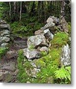 Stone Gate - Edmands Path - White Mountains New Hampshire  Metal Print