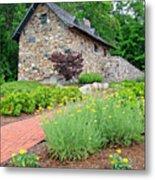 Stone House Fishers Indiana Metal Print