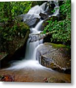 Stone Mountain Falls Metal Print