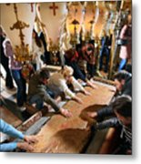 Stone Of Anointing Metal Print