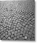 Stone Pavement Metal Print