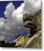 Stone Sky And Clouds Metal Print