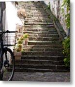 Stone Stairs Metal Print
