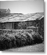 Stone Structure Doolin Ireland Metal Print
