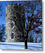 Stone Tower Metal Print