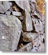 Stone Wall 2 Metal Print