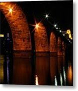 Stonearch Bridge - Minneapolis Metal Print