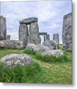 Stonehenge In England Metal Print