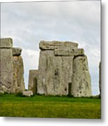 Stonehenge Monument Metal Print