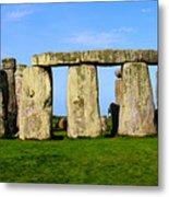 Stonehenge No 2 Metal Print