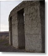 Stonehenge On The Columbia River Metal Print