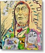 Stoney Chief  Metal Print
