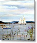 Stonington Harbor, Maine Metal Print
