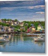Stonington Harbor Metal Print