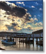 Stonington Lobster Boats Metal Print
