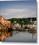 Stonington Lobster Co-op Metal Print