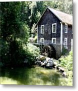 Stony Brook Gristmill And Museum Metal Print