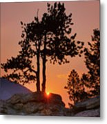 Stop Right Here - Rocky Mountain Np - Sunrise Metal Print