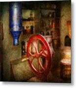 Store - Everything Is For Sale Metal Print by Mike Savad