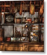 Store - Old Fashioned Super Store Metal Print