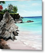 Store Bay Tobago Metal Print