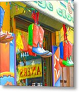Store In New York City 1 Metal Print