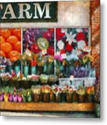 Store - Westfield Nj - The Flower Stand Metal Print