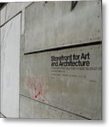 Storefront For Art And Architecture Metal Print