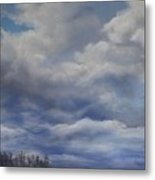 Storm A Brewing Metal Print