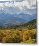Storm Approaching County Road 7 Metal Print