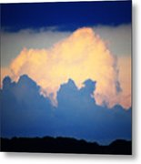 Storm Approaching Painting Metal Print