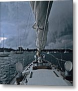 Storm At Put-in-bay Metal Print