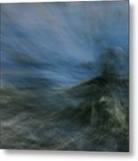 Storm At Sea Metal Print