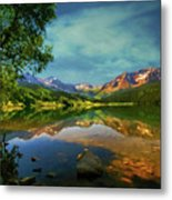 Storm At Trout Lake Metal Print