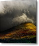 Storm Brewing Over Hawkshead Metal Print