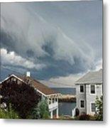 Storm Cloud Over Pigeon Cove Metal Print
