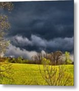 Storm Clouds 2 Metal Print