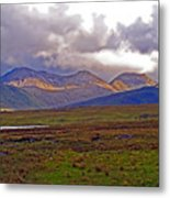Storm Clouds Ahead In Connemara Metal Print