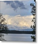 Storm Clouds Over Kentucky Lake Metal Print