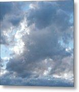 Storm Clouds Passing Metal Print